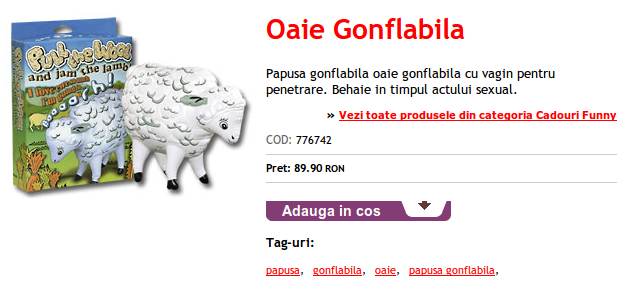 Oaie gonflabila