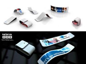 Nokia 888 - forme