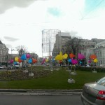 Piața Universității - kitsch marca Oprescu